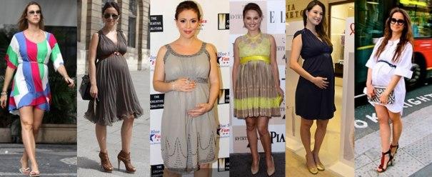 Vestido de grávida