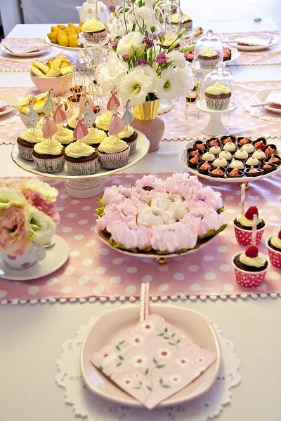 Aniversário Feito em Casa - Tema Princesa