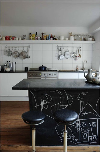 chalkboard-paint-kitchen-counter-island-easy-diy-fun-idea-inspiration-kids-friendly-makeover-budget-idea