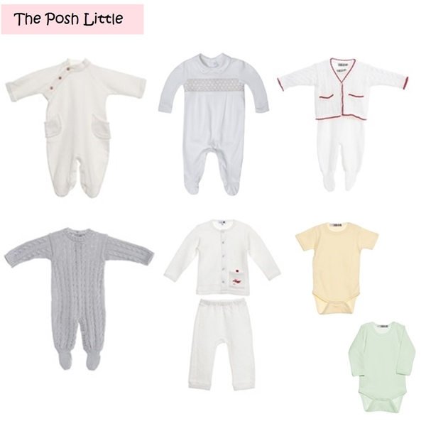 Roupa Unisex para Bebe The Posh Little-vert