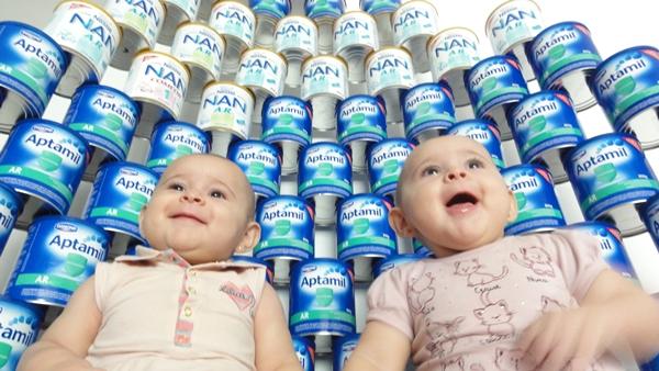 reaproveitando lata de leite em po